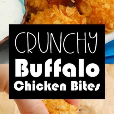 Crunchy Buffalo Chicken Bites