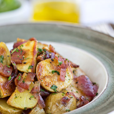 Warm, Roasted Potato Salad