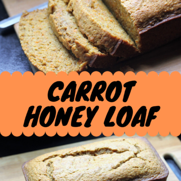 Carrot Honey Loaf Recipe