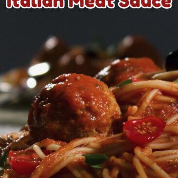 Secret Italian Meat Sauce