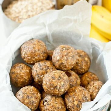 No-Bake Protein Bites – Oat, Chia Seed and Peanut Butter Protein Balls